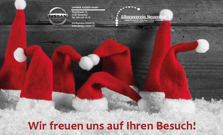 Weihnachtsausstellung Garage Kieser in Neuenhof 2017